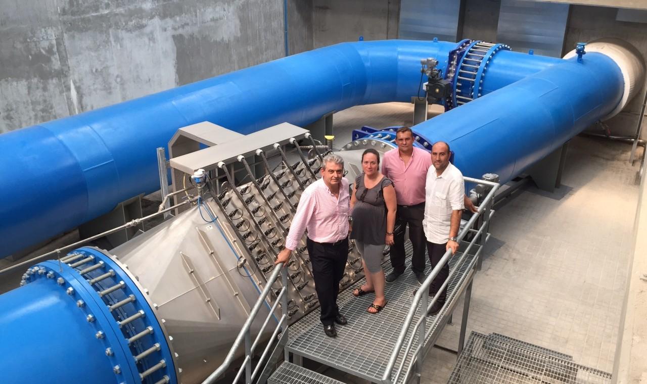 potabilizadora aguas de valencia en massamagrell