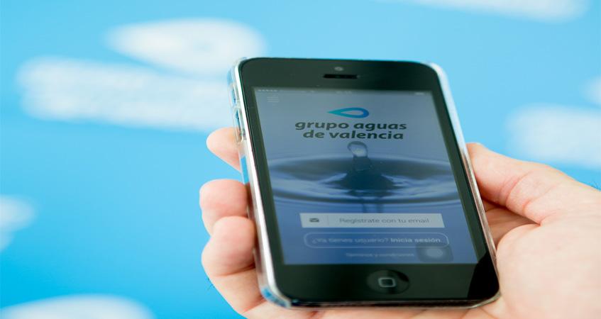 El grupo aguas de valencia lanza su app m vil en ios y for Aguas de valencia oficina virtual