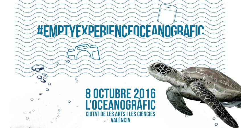 El movimiento de instagramers empty llega al oceanogr fic for Precio oceanografic valencia 2016